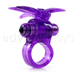 Eden waterproof forever dragonfly ring - cock ring