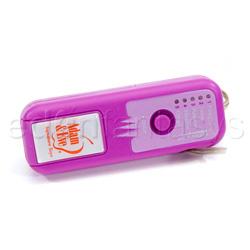G-spot rabbit vibrator - CyberSilicone 5x G-spot hot handle - view #3