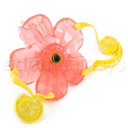 Strap-on vibrator - Eden waterproof pleasure petals - view #2
