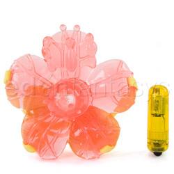 Strap-on vibrator - Eden waterproof pleasure petals - view #4