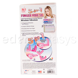 Finger massager - 5-in-1 finger vibe 5x - view #6