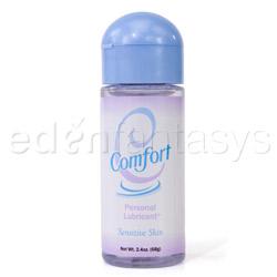 Wet comfort - water based lube