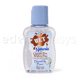Wet naturals beautifully bare - lubricant