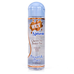 Wet naturals beautifully bare - water based lube