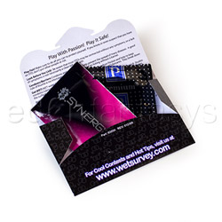 Lubricant - Wet safe sex kit - view #2