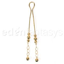 Labia clip - clitoral jewelry