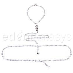 Body jewelry - Silver dragon body chain - view #1