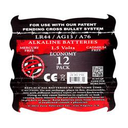 Batteries - LR44 batteries 12 pack - view #2