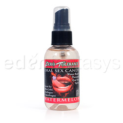 Oral sex candy spray - lubricant