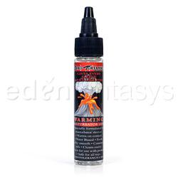 Warming masturbator lube