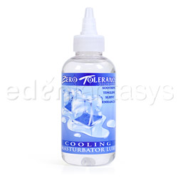 Cooling masturbator lube - lubricant