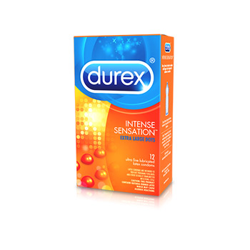 Durex intense sensation studded