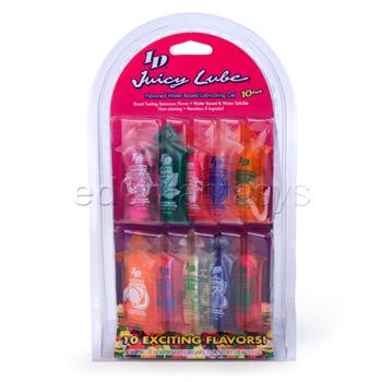 Juicy Lube 10 Pack