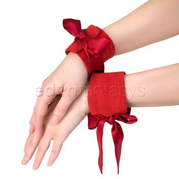 Good Silk wrist bondage