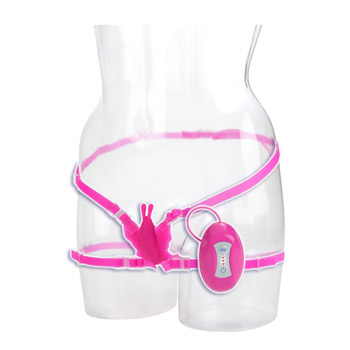 Butterfly bliss - Strap-on vibrator