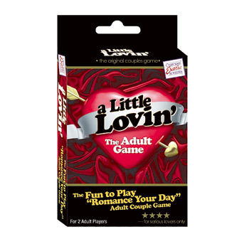 A little lovin adult game - Adult game