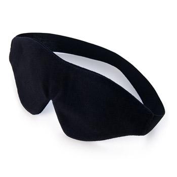 Plushy gear lover's eye mask