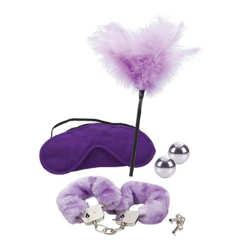 Dr. Laura Berman's shades of purple playroom kit