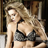 Cheetah four way convertible bra