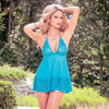 Oceanside babydoll and g-string