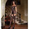 Leopard garter dress