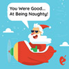 You Were Good At Being Naughty Gift Card