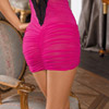 Spice shirred dress View #6