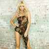 Bullet proof assymetrical babydoll & g-string