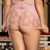 Sweet chemise set queen size View #6