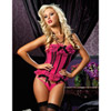 Pink license to thrill bustier