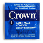 Crown lightly lubricated
