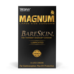 Trojan magnum bareskin lubricated
