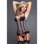 Animal print bustier reviews