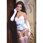 Satin bow corset reviews