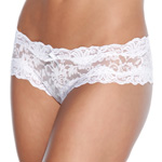 White lace crotchless panty reviews