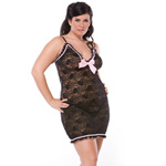 Stretch lace chemise reviews