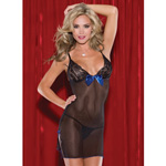 Mesh and lace chemise reviews
