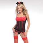 Nurse top with g-string reviews