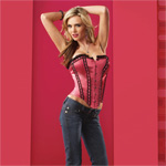 Sexy satin corset and g-string reviews