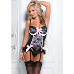 Lace bustier wire cups reviews