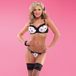 Bow mesh moulded bra reviews