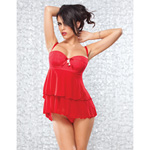 Mesh underwire babydoll reviews