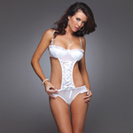 Mesh teddy with rhinestone straps reviews