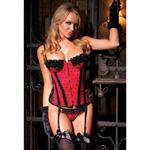 Taffeta dot corset reviews