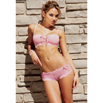 Daisy pink lace cami set reviews