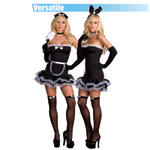 Hop To It Bunny and French maid reviews
