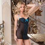 Embroidered chemise and thong reviews