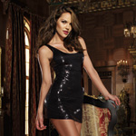 Black sequin dress reviews