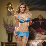 Bedroom flirtation bra and garter set reviews
