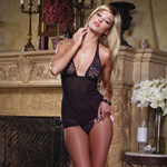 Lace babydoll thong and toy reviews